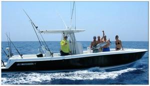 31' Contender Yates Sea