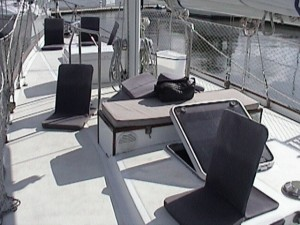 SERENA sailing in Charleston