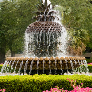 Charleston South Carolina Fountain