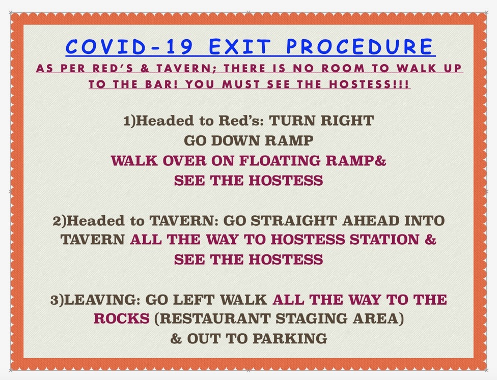 Covid-19 Exit Procedure
